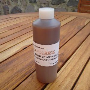 Aceite de impregnación para maderas de exterior 250ml- arkideck