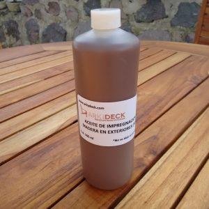 Aceite de impregnación para maderas de exterior 500ml- arkideck