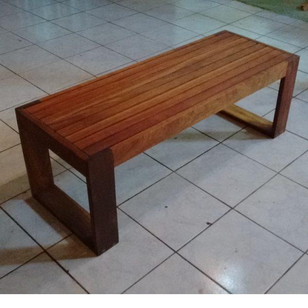 Banca de madera para exterior- arkideck