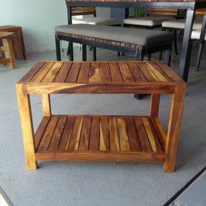 Mesa de centro de madera para exterior- arkideck
