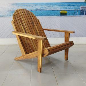 Silla de madera para playa- arkideck