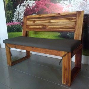 Banca de madera para jardin- arkideck