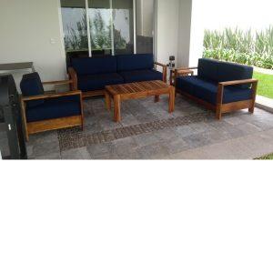 Sala de madera para terraza- arkideck