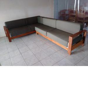 Sofa de madera para exterior- arkideck