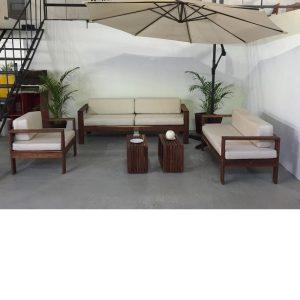 Sala de madera para exterior- arkideck