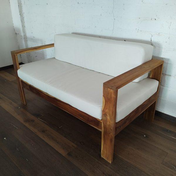 Love seat de madera para jardin- arkideck