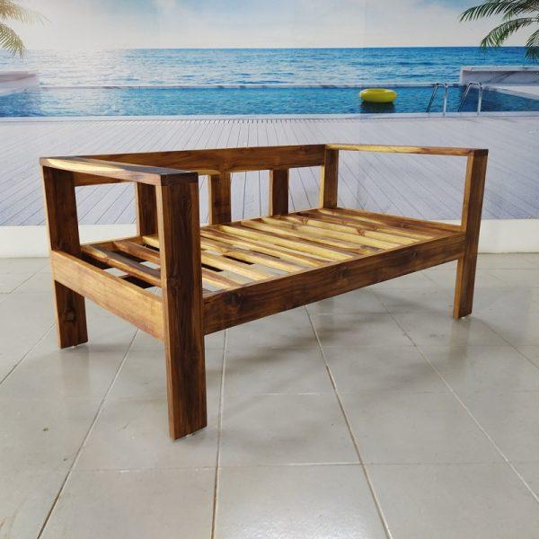 Sofa de madera para jardin- arkideck