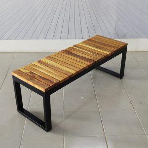 Banca de madera para terraza-arkideck