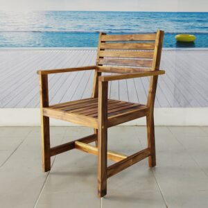 Silla de madera para terraza- arkideck