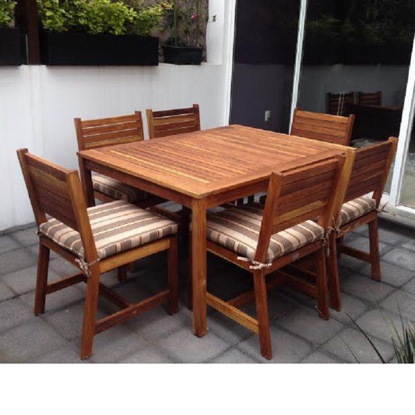 Comedor de madera para terraza -arkideck